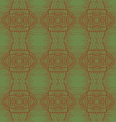 Seamless abstract green pattern vector image vector image