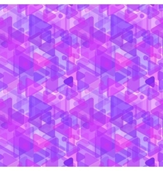 Abstract purple shapes modern seamless pattern vector image vector image