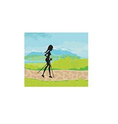 Cartoon female design vector image vector image