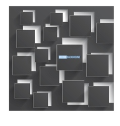 abstract background square gray vector image vector image