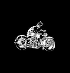 biker 22 vector image