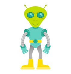 cute alien vector image