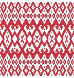 Ethnic textile ornamental seamless pattern vector image