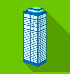 high-rise building of a skyscraper skyscraper vector image