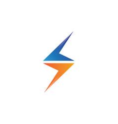 Lightning icon logo and symbols vector