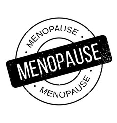 Menopause rubber stamp vector