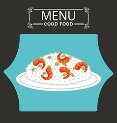 menu japanese food vector image