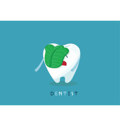 Swill tooth vector image