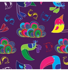 toucan birds vector image