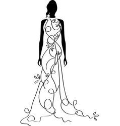 bridal shower5 vector image