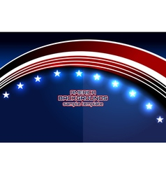 American curve template independence vector