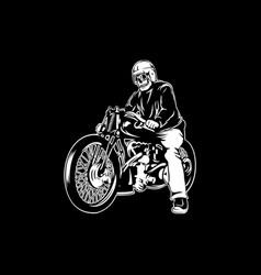 biker 23 vector image