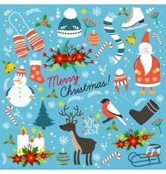 Christmas Hand Drawn Elements vector
