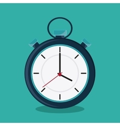 Chronometer and time design vector