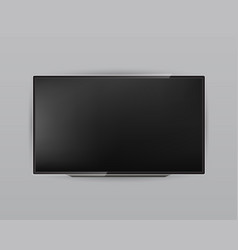 creative of realistic tv vector image