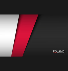 modern background with polish colors vector image