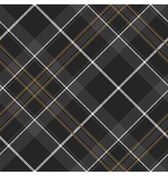 Pride of scotland hunting tartan diagonal seamless vector