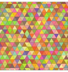 seamless texture of colored triangles vector image