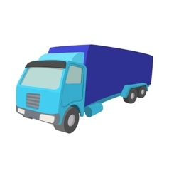 Truck cartoon icon vector