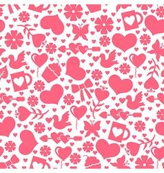 Valentine day seamless vector