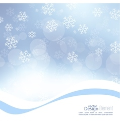 Winter abstract background vector