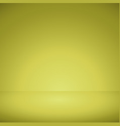 yellow background with gradient of light vector image