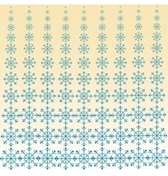 Christmas snowfall blizzard background vector