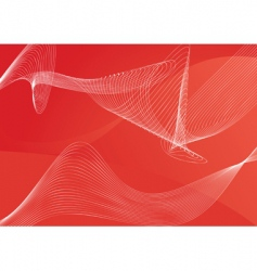 mesh lines background vector image vector image