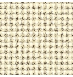 Abstract seamless pattern with beige stars on vector image