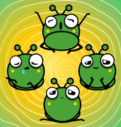Lazy ants vector image vector image