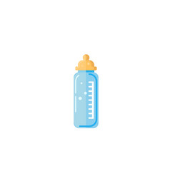 baby milk in bottle eps-10 vector image