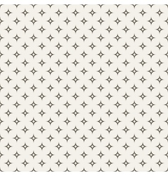 Black and white abstract star seamless pattern vector