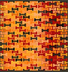Glowing bone pattern seamless vector