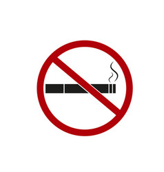 No smoking smok icons vector