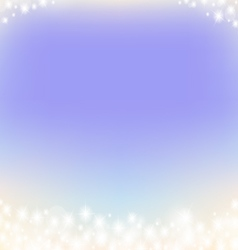 Purple dreamy fairy tale abstract sparkling frame vector
