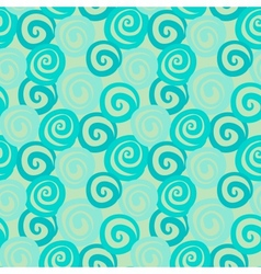 Vintage abstract seamless pattern with curl vector image vector image