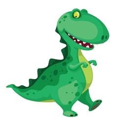 going dinosaur vector image