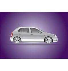 Car hatchback vector image