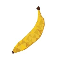 Abstract banana fruit icon vector