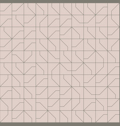 Abstract modernist style geometric tiles seamless vector