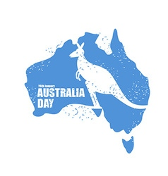 Australia day National Patriotic holiday in vector