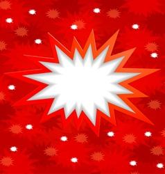 bang bang vector image