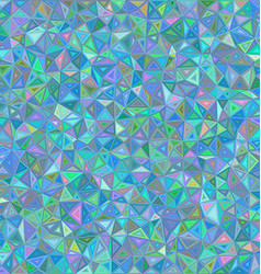 Color chaotic triangle mosaic background vector image