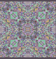 colorful seamless kaleidoscope pattern background vector image