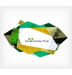 Geometrical unusual pattern vector image