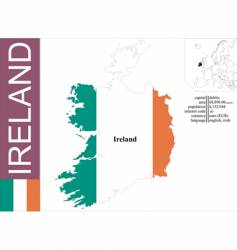 Ireland vector image