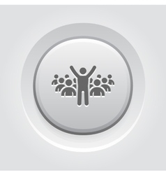 Leader Icon Business Concept vector