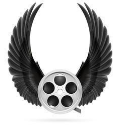 Cinema inspired vector image vector image