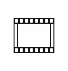 Film with frames movie icon simple style vector image