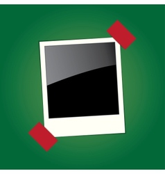frame for the photo vector image
